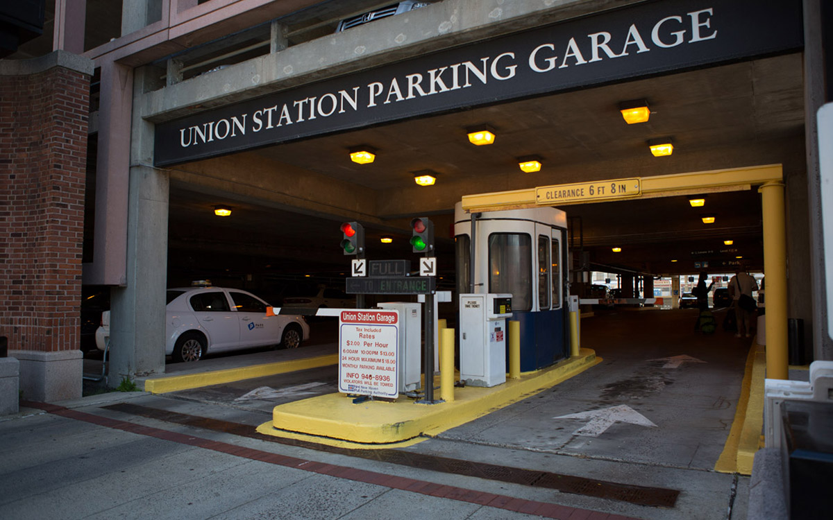 Union Station Garage Park New Haven
